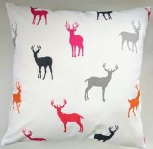 Cushion Cover Made in Next Stags Brushed Cotton